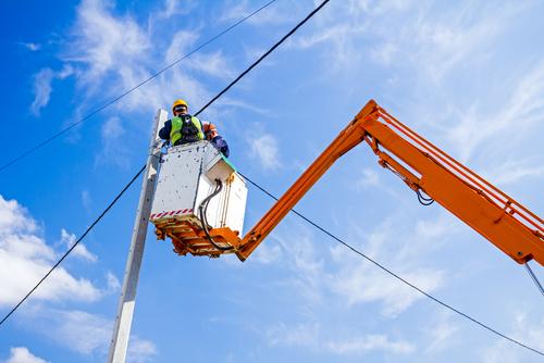 Overhead Power Line Work