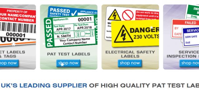 New Pat Labels Online site