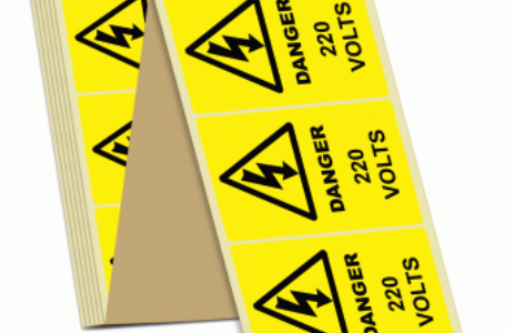 health and safety stickers