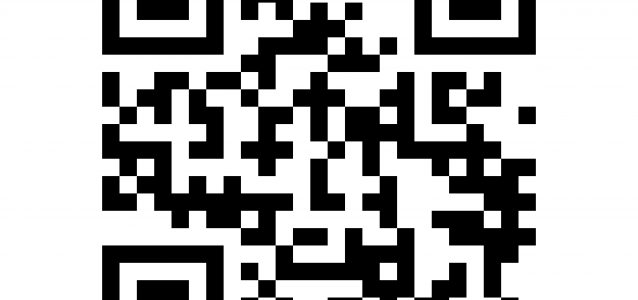 QR code. Abstract Vector modern bar code sample for smartphone scanning isolated on white background. Data encryption