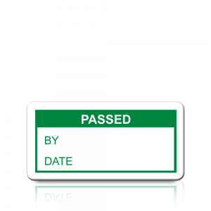Passed Labels in Green