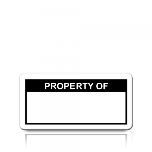 Property Of Labels in Black