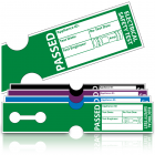 Tuff Tag Passed PAT Test Labels for Harsh Environments. Choice of Colours
