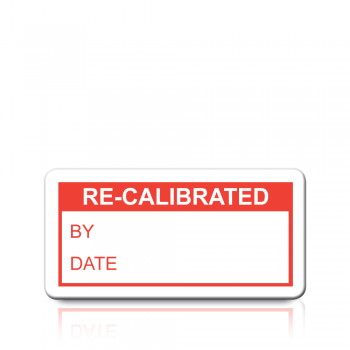 Re-Calibrated Labels in Red